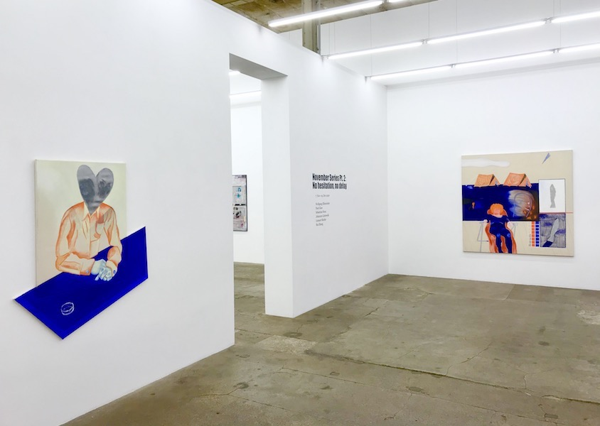 November Series Pt.2: No hesitation, no delay | Paul Glaw, installation view