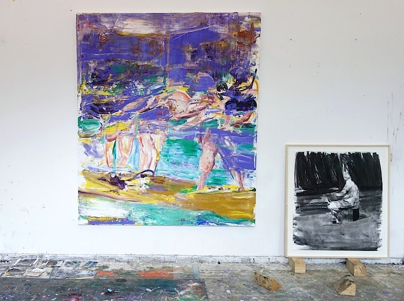 Studio Sebastian Hosu [Spinnerei Leipzig] in September 2017: New Works