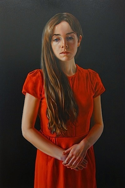 David O´Kane: Photogénie - Figure in Red, 2018, 