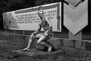 Thomas Steinert: Sports ground of the Red Army #5, near Eberswalde 1985 [Arno Breker: Berufung]